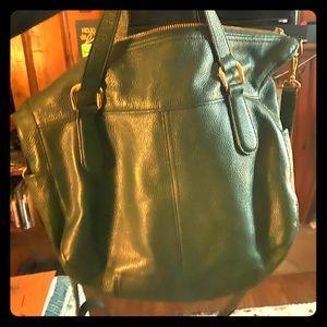 Green Leather Ralph Lauren Bag/purse/crossbody